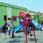 Игровая площадка у детского кафе «Карлсон»